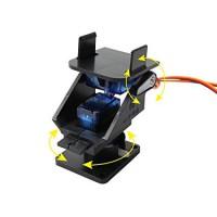 2-осевой кронштейн для камеры на сервоприводах Модели для сборки
