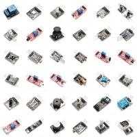 Набор датчиков, сенсоров и модулей для Arduino / Raspberry - 37 шт Arduino совместимые наборы