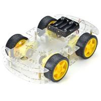 Набор для сборки удлиненного 4-х-колёсного шасси