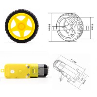 Набор для сборки удлиненного 4-х-колёсного шасси Модели для сборки