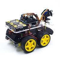 Роботизированный автомобиль на 4WD шасси Модели для сборки