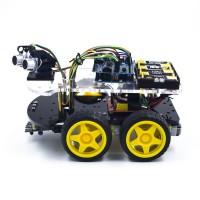 Роботизированный автомобиль на 4WD шасси