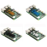 Набор из 4 радиаторов для Raspberry Pi Радиаторы
