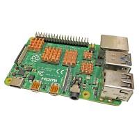 Набор из 5 медных радиаторов для Raspberry Pi Радиаторы