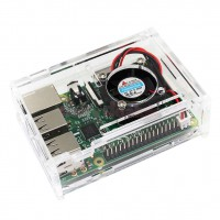 Акриловый корпус для Raspberry Pi 2B/3B/3B+