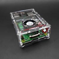 Акриловый корпус для Raspberry Pi 2B/3B/3B+ Корпусы и охлаждение