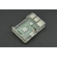Прозрачный корпус ABS для Raspberry Pi B+/2B/3B/3B+ с окном для доступа 40 Pin GPIO Аксессуары