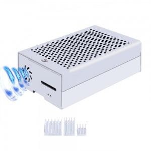 Корпус для Raspberry Pi 4 (алюминий / серебристый) с радиаторами Корпусы и охлаждение