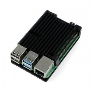 Корпус для Raspberry Pi 4 (алюминий /черный) Аксессуары