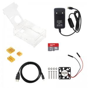 Набор аксессуаров для Raspberry Pi 4 Корпусы и охлаждение