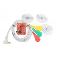 Модуль ЭКГ AD8232 с электродами