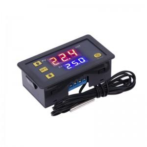 Программируемый терморегулятор W3230 с водонепроницаемым датчиком, 110-220В