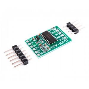 Двухканальный 24-битный прецизионный аналого-цифровой датчик веса HX711