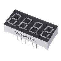 Светодиодный дисплей 4 цифры (общий анод)