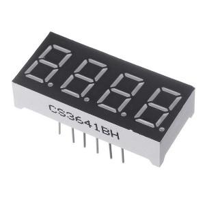 Светодиодный дисплей 4 цифры (общий анод) Дисплеи