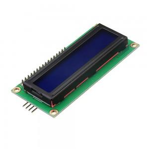 LCD1602 Символьный дисплей 16x2 Синий с I2C/SPI конвертером Дисплеи