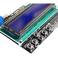 LCD1602 Символьный дисплей 16x2 Синий с клавиатурой Дисплеи