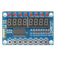 Модуль клавиатуры и светодиодной индикации TM1638 LED&KEY Дисплеи