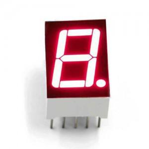 7 сегментный индикатор 10 пин 14.2 мм красный (общий анод)