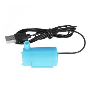 Погружной насос DC 5 В синий (горизонтальный) с USB