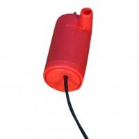 Погружной насос DC 5 В красный (горизонтальный) с USB