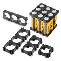 Модульный крепеж на 3аккумулятора 18650, 2 шт. Отсеки для батареек