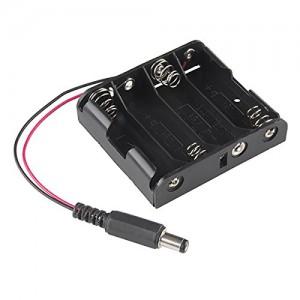 Батарейный отсек 4xAA с коннектором Отсеки для батареек