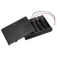 Батарейный отсек 6xАА закрытый с выключателем Отсеки для батареек