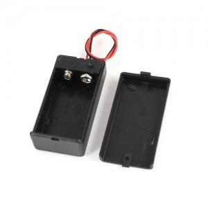 Батарейный отсек 9v (Крона) закрытый с выключателем Отсеки для батареек