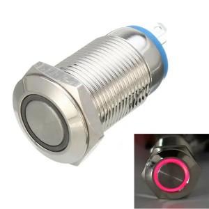 Кнопочный переключатель с красной подсветкой Переключатели