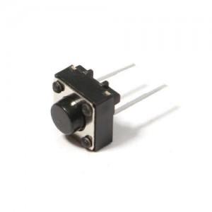 Кнопка тактовая DIP 6x6x5 мм 2 контактная Кнопки