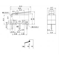 Микропереключатель SPDT 2A 125В Переключатели