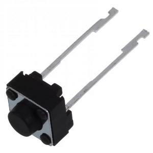 Кнопка тактовая DIP 6x6x5 мм 2 контактная, нога 10 мм с замыканием Кнопки