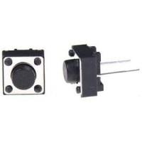 Кнопка тактовая DIP 6x6x5 мм 2 контактная, нога 10 мм