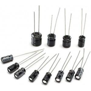 Набор алюминиевых электролитических конденсаторов 12 номиналов по 10 шт Конденсаторы
