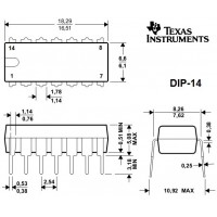 Сдвиговый регистр SN74HC164N Декодеры