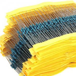 Набор резисторов 0.25 Вт, 30 номиналов по 20 шт Резисторы