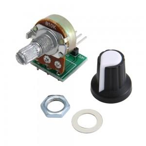 Потенциометр 10кОм с колпачком Резисторы