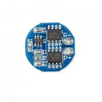 Модуль защиты li-ion аккумуляторов PCB BMS 2S 18650 5A круглый