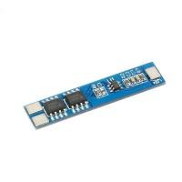 Модуль защиты li-ion аккумуляторов PCB BMS 2S 18650 5A