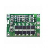 Модуль защиты li-ion аккумуляторов PCB BMS 3S 18650 40A