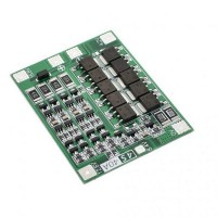 Модуль защиты li-ion аккумуляторов PCB BMS 4S 18650 40A