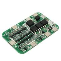 Модуль защиты li-ion аккумуляторов PCB BMS 6S 18650 12A