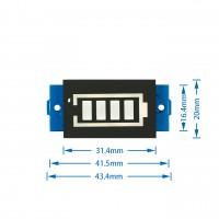 Индикатор заряда LiPo аккумуляторов