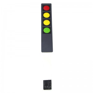 Гибкая клавиатура 1x4 кнопки