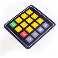 Гибкая клавиатура 4x4 кнопки