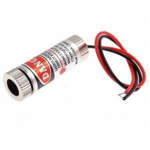 Лазерный модуль (крест) - 5 мВт 650 нм Красный
