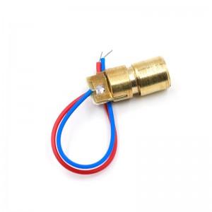 Лазерный диод 3В/5В (650нм, 5мВт, 6мм)