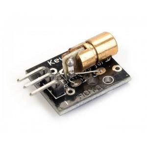 Лазерный модуль (точка) - 5 мВт 650 нм Красный 3 пин