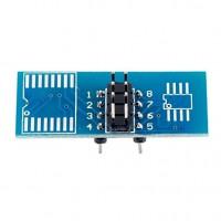 Пружинный адаптер для микросхем в корпусе SOP8 (переходник-прищепка)